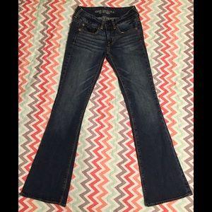 EUC American Eagle Jeans Artist Stretch Sz 2